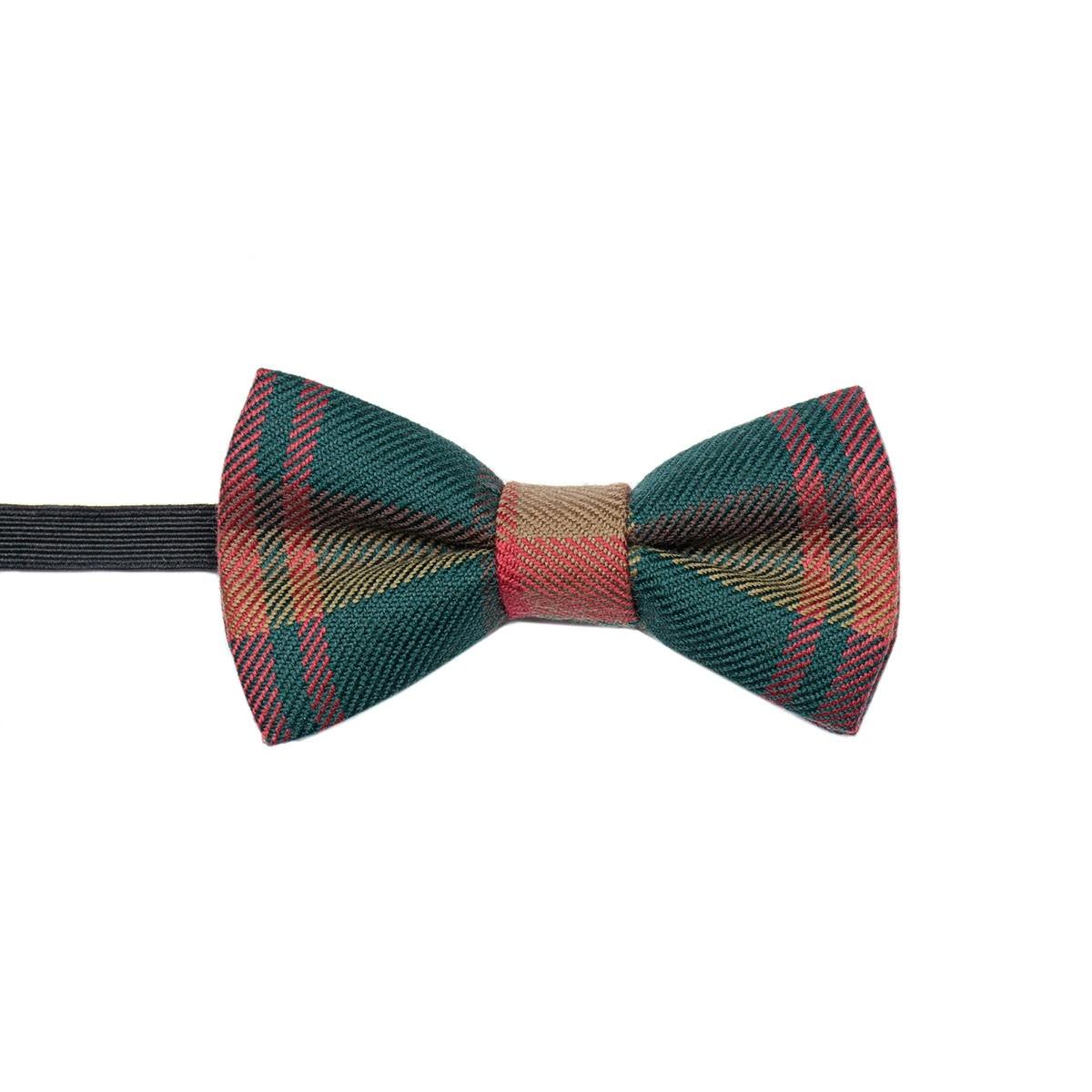 Made to Order Reiver Lightweight Boys / Childrens Tartan Bow Tie