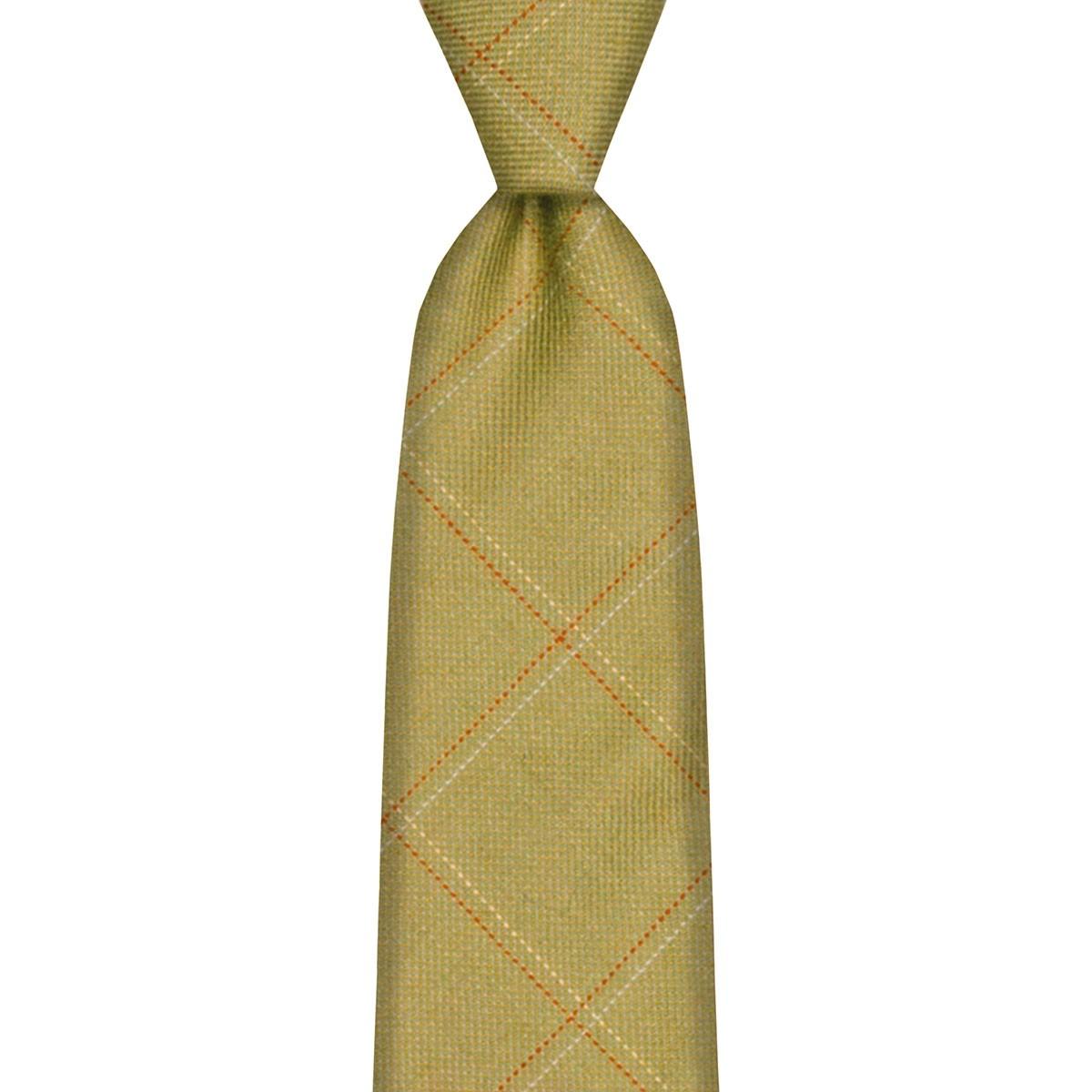 Heriot Estate Check Tweed Wool Tie
