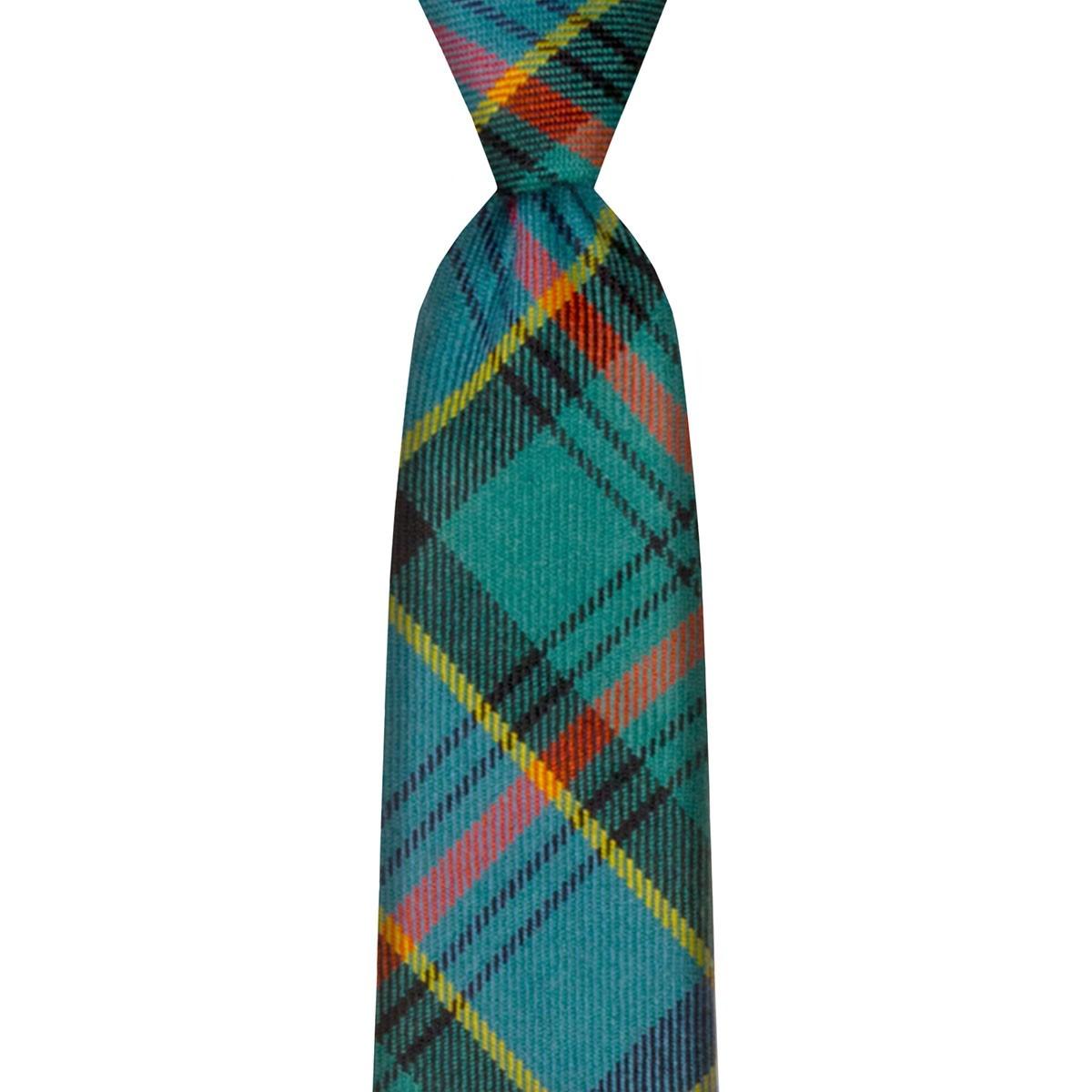 Ogilvie Hunting Ancient Tartan Tie