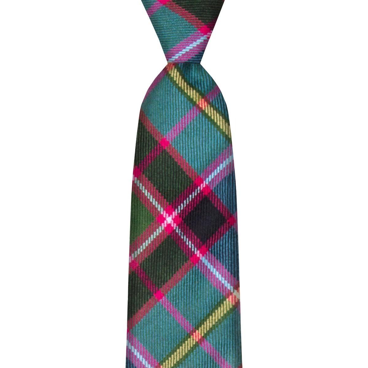 Stirling & Bannockburn Tartan Tie