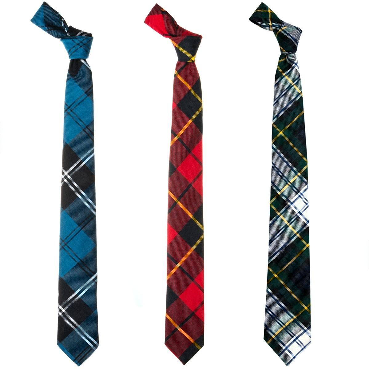 Bespoke Tartan Skinny Tie
