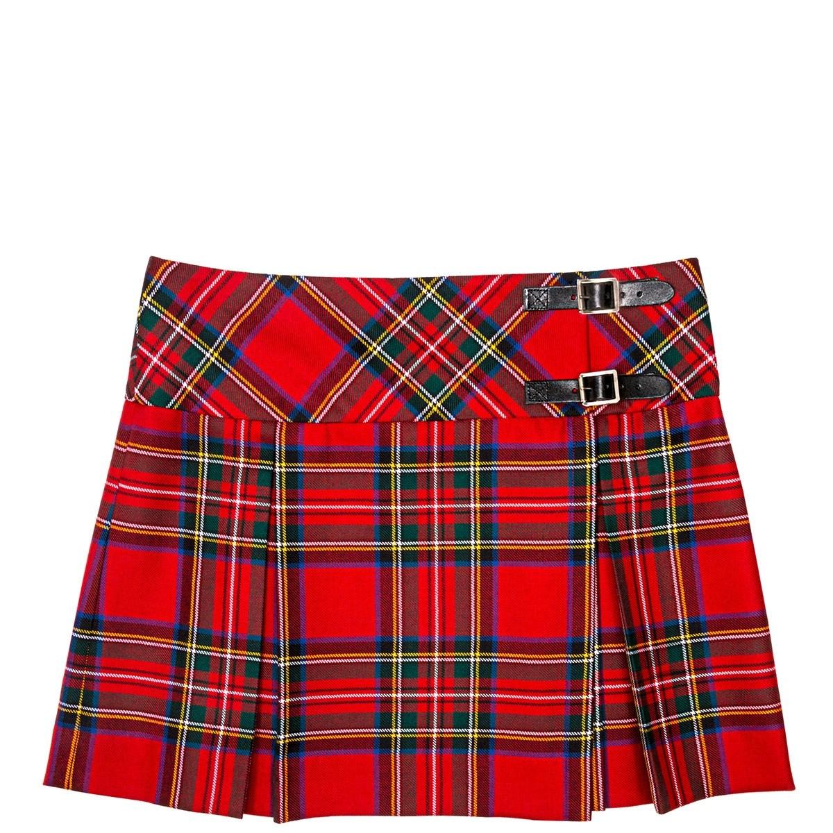 Ladies Tartan Billie Skirt
