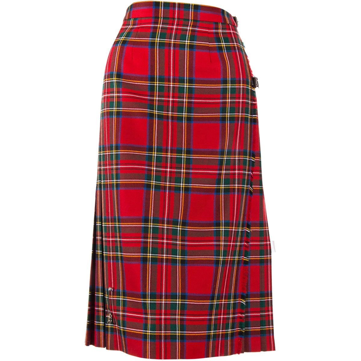 Ladies Tartan Semi Skirt - Front