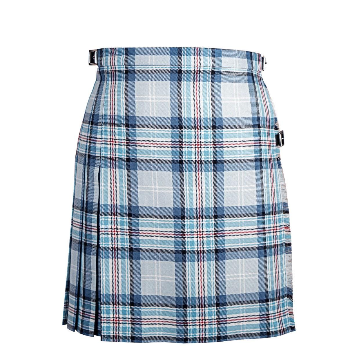 Diana, Princess of Wales Memorial Ladies Tartan Mini Skirt