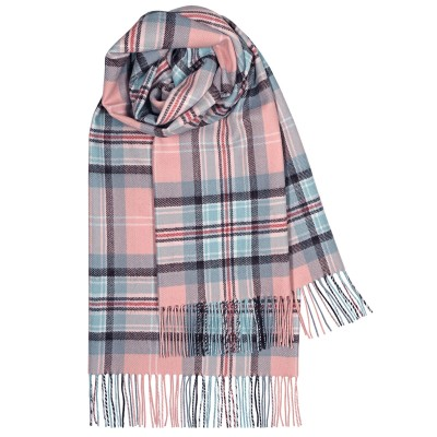 Diana, Princess of Wales Memorial Rose Tartan Lambswool Stole
