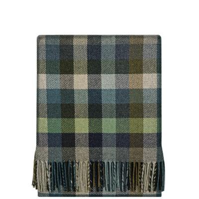 Fleur Atlantic Block Wool Blanket