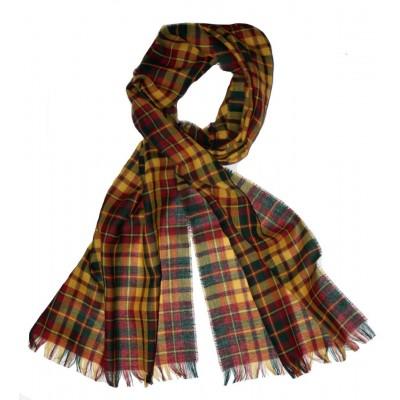 Strathearn Modern Tartan Fine Wool Stole