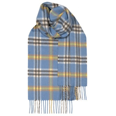 Beau Elie Apple Check Luxury Cashmere Scarf