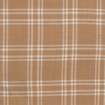 White Check Lightweight Wool Fabric