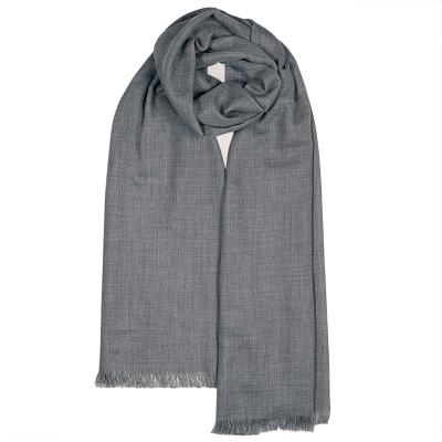 Aubrey Grey Melange Luxury Cashmere Stole