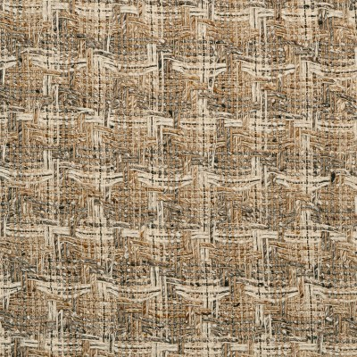 Donegal Camel/Cream Multi Wool Fabric