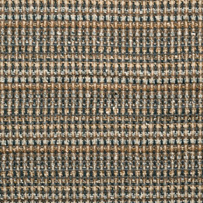 Fairisle Camel/Grey Sparkle Wool Tweed Fabric