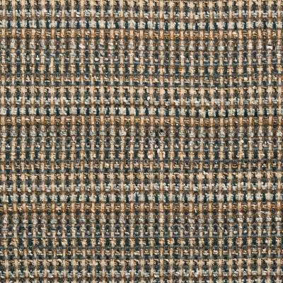 Fairisle Camel/Grey Sparkle Wool Tweed Fabric