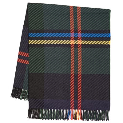 Darcy Malcolm Modern  Luxury Superfine Wool Throw