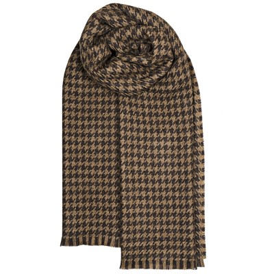 Fearne British Wool  Corrie Taupe Stole