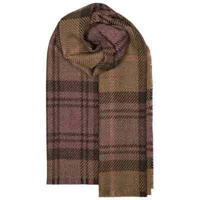 Fearne British Wool Cranston Blossom Stole