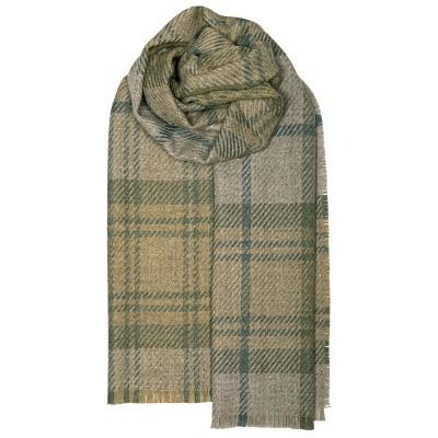 Fearne British Wool Cranston Sage Stole