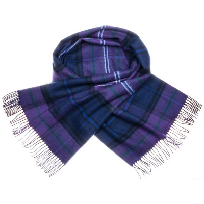 Scotland Forever Modern Tartan Lambswool Stole - Front