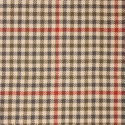 St Abbs Check Tweed Light Weight Fabric-Front1