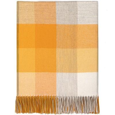 Dornie Gorse Lambswool Blanket