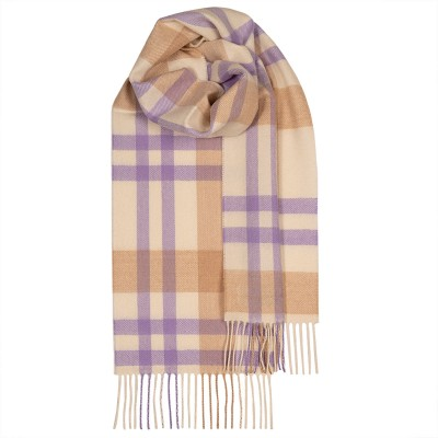 Bowhill Viola Asymmetric Lambswool Scarf