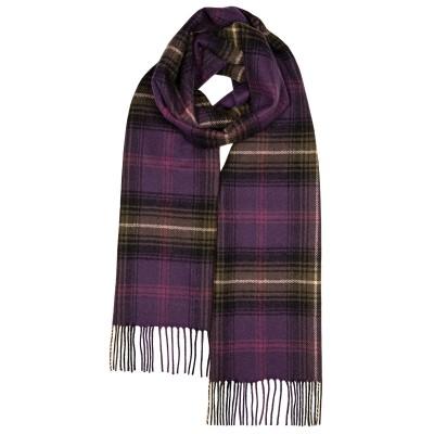 Darwin Lochcarron Heather Luxury Oversized Lambswool Scarf