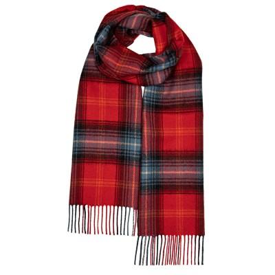 Darwin Lochcarron Ruby Luxury Oversized Lambswool Scarf