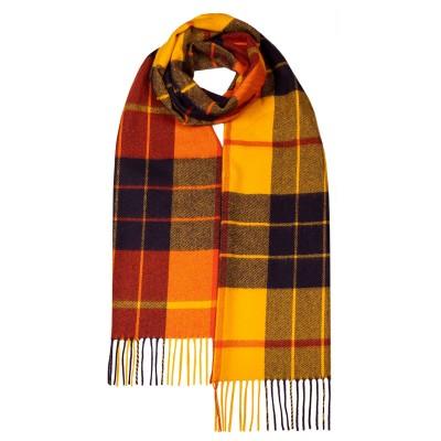 Darwin Ochre/Amber MacLeod Dress Luxury Oversized Lambswool Scarf