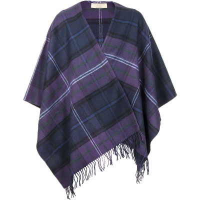 Scotland Forever Modern Lambswool Serape - Front