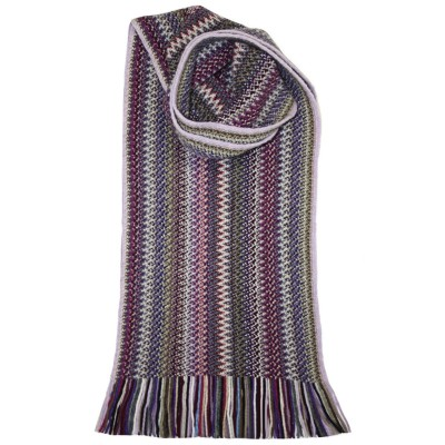 Rebecca Faith Wool/Angora Knitted Scarf
