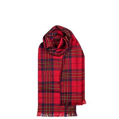 Made to Order Reiver Lightweight Tartan Scarf