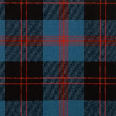 Angus Ancient Medium Weight Tartan Fabric-Front