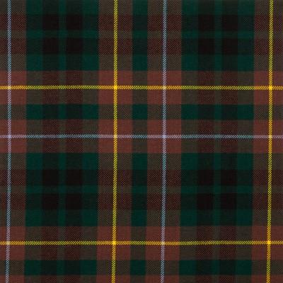 Buchanan Hunting Modern Medium Weight Tartan Fabric-Front