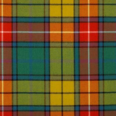 Buchanan Ancient Medium Weight Tartan Fabric-Front