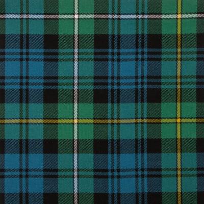 Campbell of Argyll Ancient Medium Weight Tartan Fabric-Front