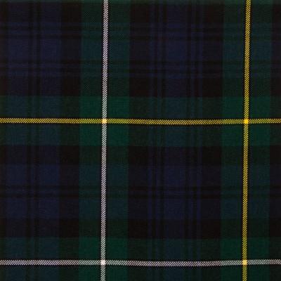 Campbell of Argyll Modern Medium Weight Tartan Fabric-Front