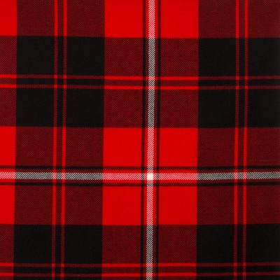 Cunningham Modern Medium Weight Tartan Fabric-Front