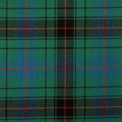 Davidson Clan Ancient Medium Weight Tartan Fabric-Front