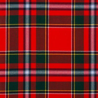 Drummond of Perth Modern Medium Weight Tartan Fabric-Front