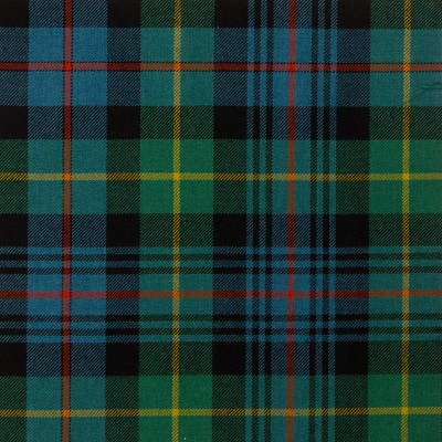 Farquharson Ancient Medium Weight Tartan Fabric-Front