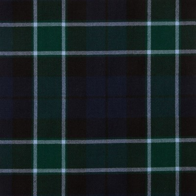 Graham of Menteith Modern Medium Weight Tartan Fabric-Front