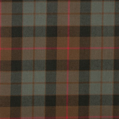 Gunn Weathered Medium Weight Tartan Fabric-Front
