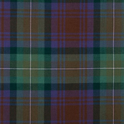 Isle of Skye Medium Weight Tartan Fabric-Front