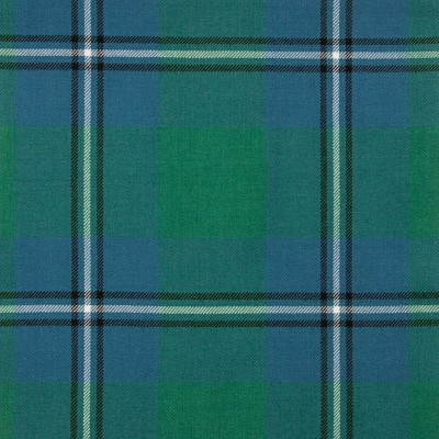 Irvine Ancient Medium Weight Tartan Fabric-Front