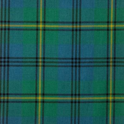 Johnstone Ancient Medium Weight Tartan Fabric-Front