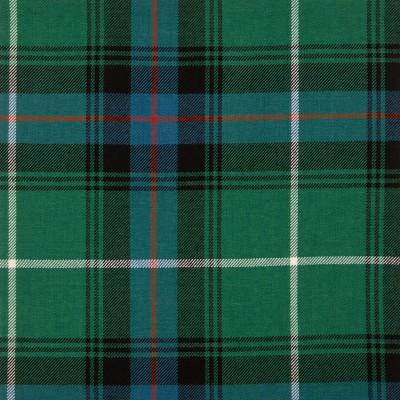MacDonald of The Isles Hunting Ancient Medium Weight Tartan Fabric-Front