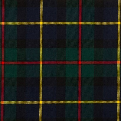 MacLeod of Harris Modern Medium Weight Tartan Fabric-Front