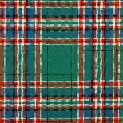 MacFarlane Hunting Ancient Medium Weight Tartan Fabric-Front
