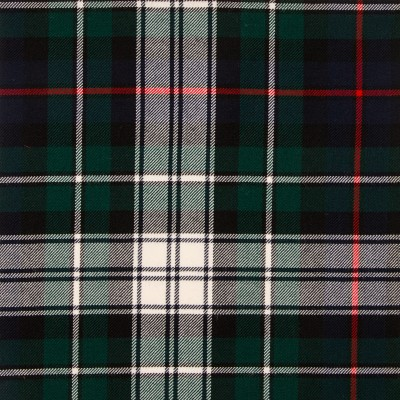MacKenzie Dress Modern Medium Weight Tartan Fabric-Front