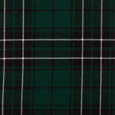 MacLean Hunting Modern Medium Weight Tartan Fabric-Front